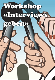 Workshop Interviews geben